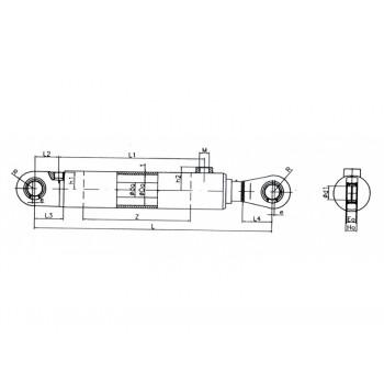 Valec hydraulický 110/70x4150  111 211